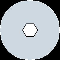Hexagonal Holes