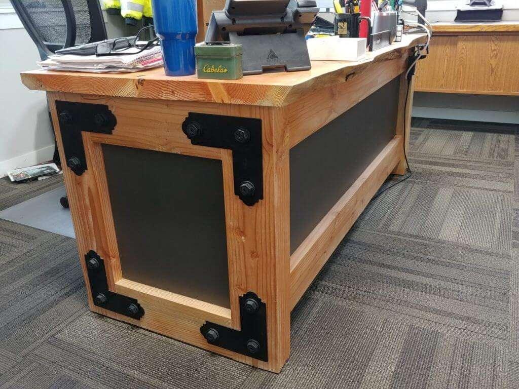 Office Desk by Chris Henderson