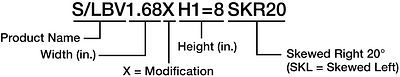 Custom Ordering Example S/B