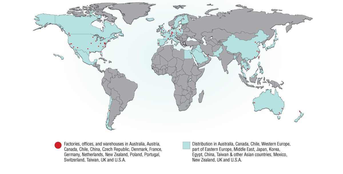 SST World Map Locations