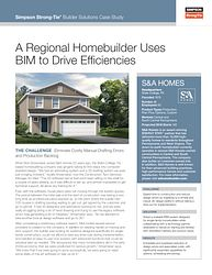 Case Study — A Regional Homebuilder Uses BIM To Drive Efficiencies