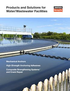 S-A-WWT21 — Products and Solutions for Water/Wastewater Facilities