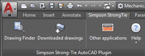 Screenshot — Plugin for AutoCAD 2012–2019