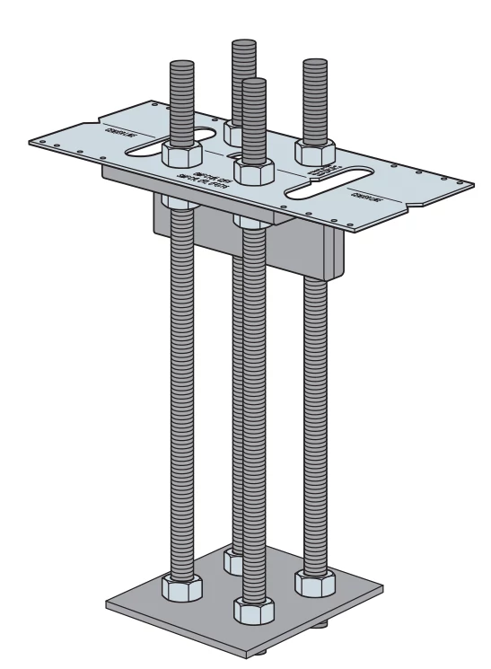 SMF Anchorage Design, Figure 1 — MFSL Anchorage Assembly