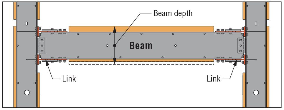 Beam Depth at Floor Level