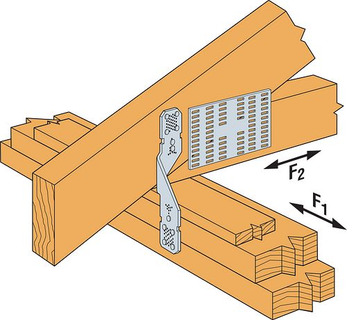 """MMH8 Installation (5/8"""" bearing strip above top plate)"""