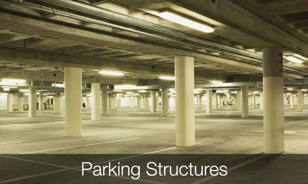 Concrete Strengthening Applications Parking Structures