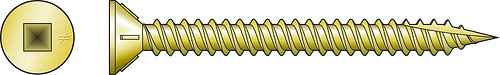 WSFLRV Wood-to-CFS/Aluminum Screw