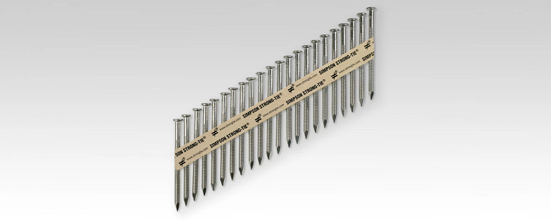 Strong-Drive® SCNR Ring-Shank Collated Connector Nail