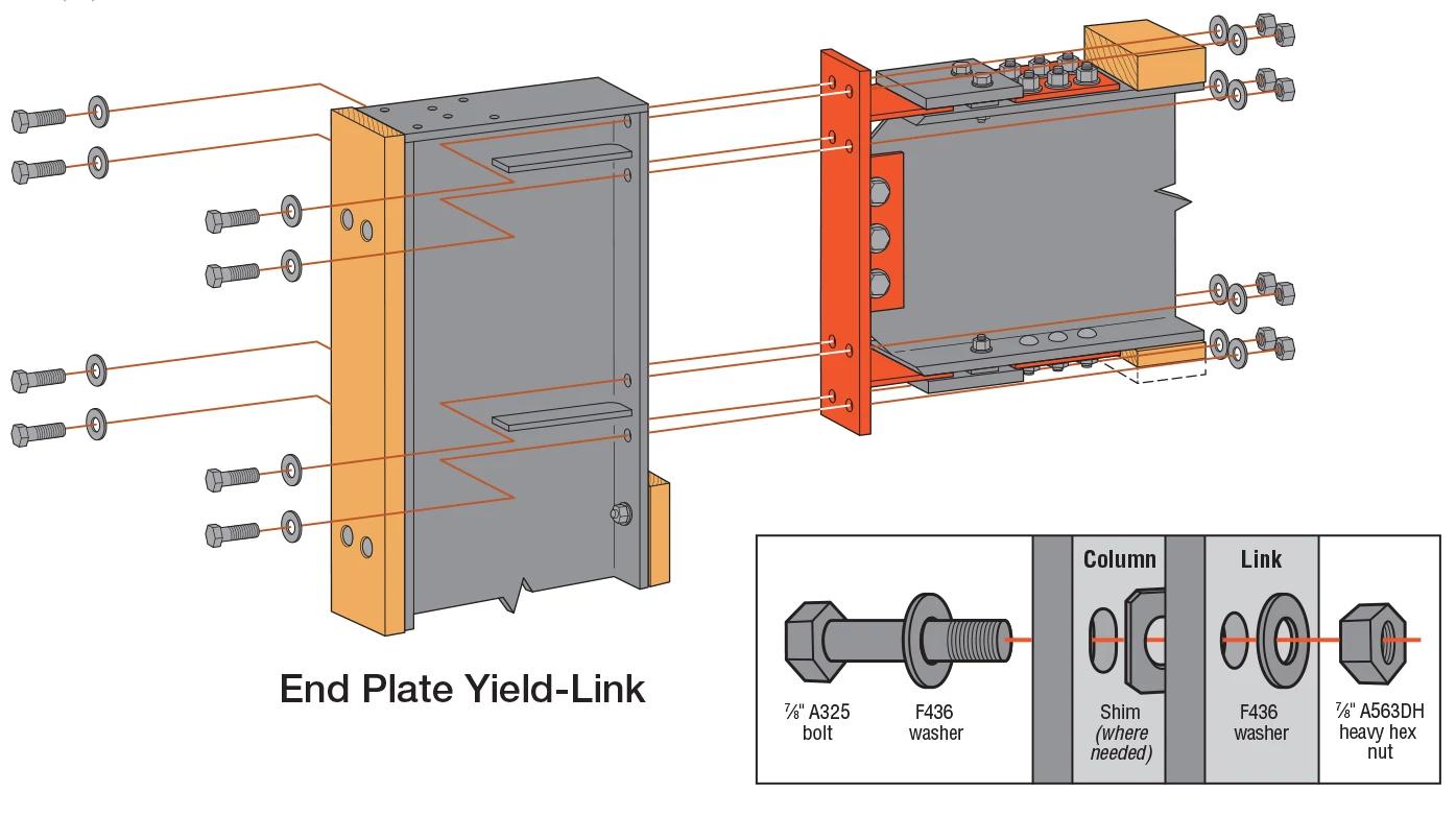 End-Plate Link Installation Diagram