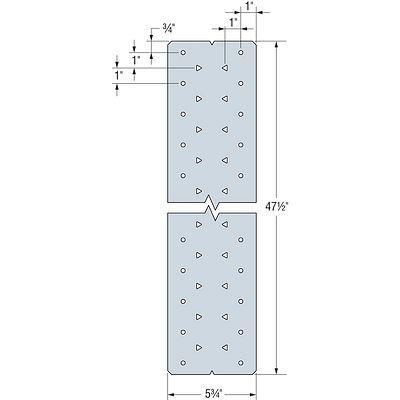 MDCST Medium Duty Diaphragm Cord Strap Tie