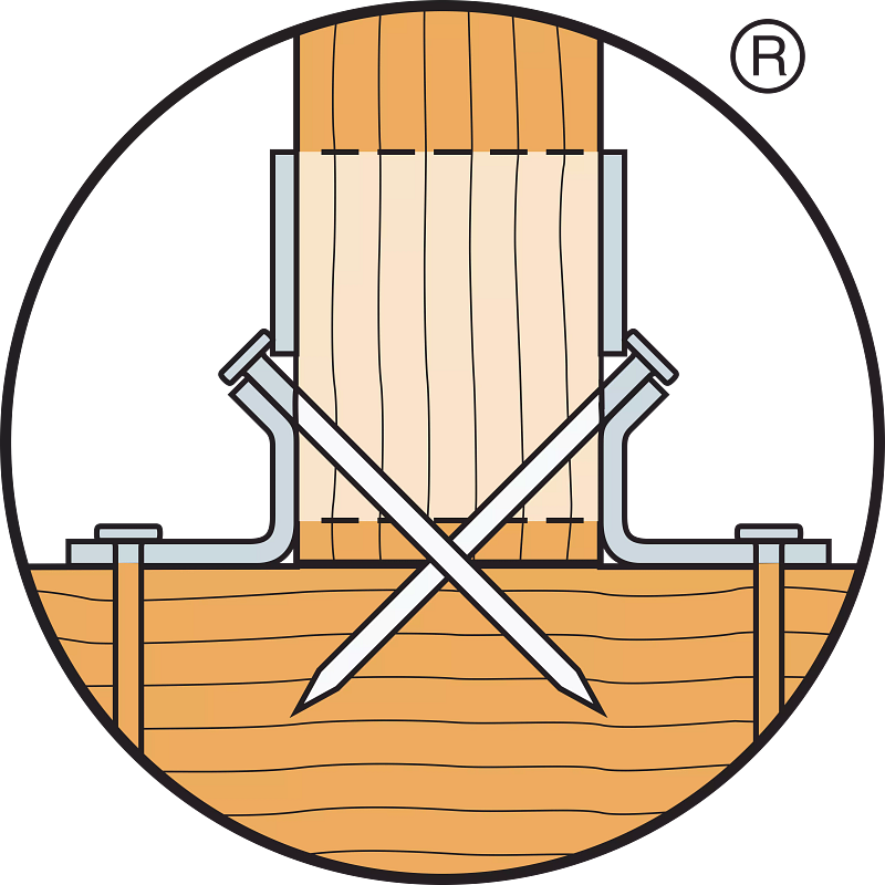 Double Shear Nailing Example