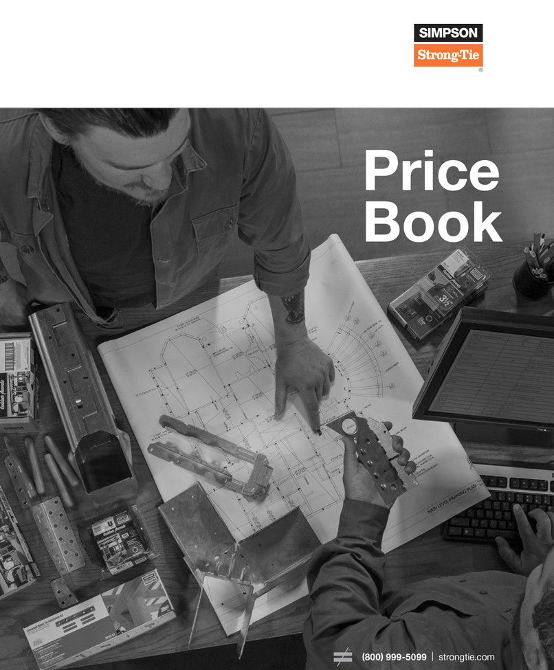 Simpson Strong-Tie Price Book