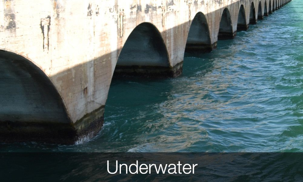 Concrete Strengthening Applications Underwater