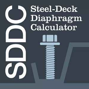 Steel-Deck Diaphragm Calculator