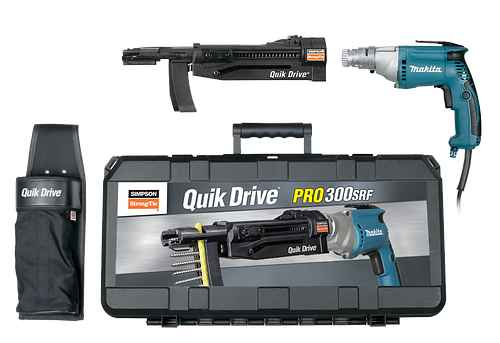 Quik Drive® PRO300SRF Roofing Tile System
