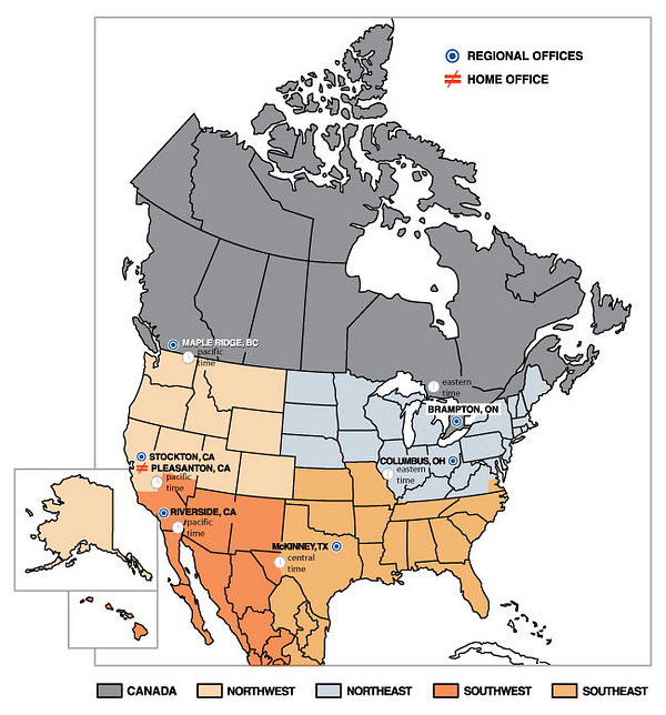 regional_offices_USA_CAN_regions_and_timezones