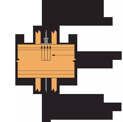 Figure 3 — Bearing Plate Free Body Diagram Sample