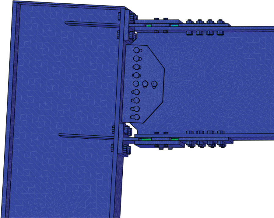 Finite Element Analysis of the Yielding Area of the Yield-Link