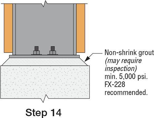 SMF T-Stub Link Installation: Step 14