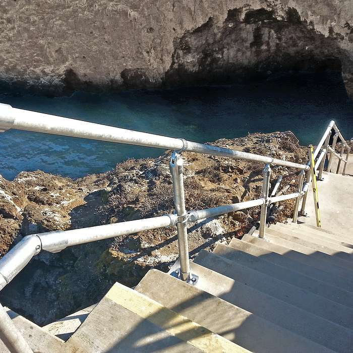 Seaside Stairs