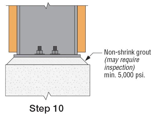SMF End-Plate Link Installation: Step 10