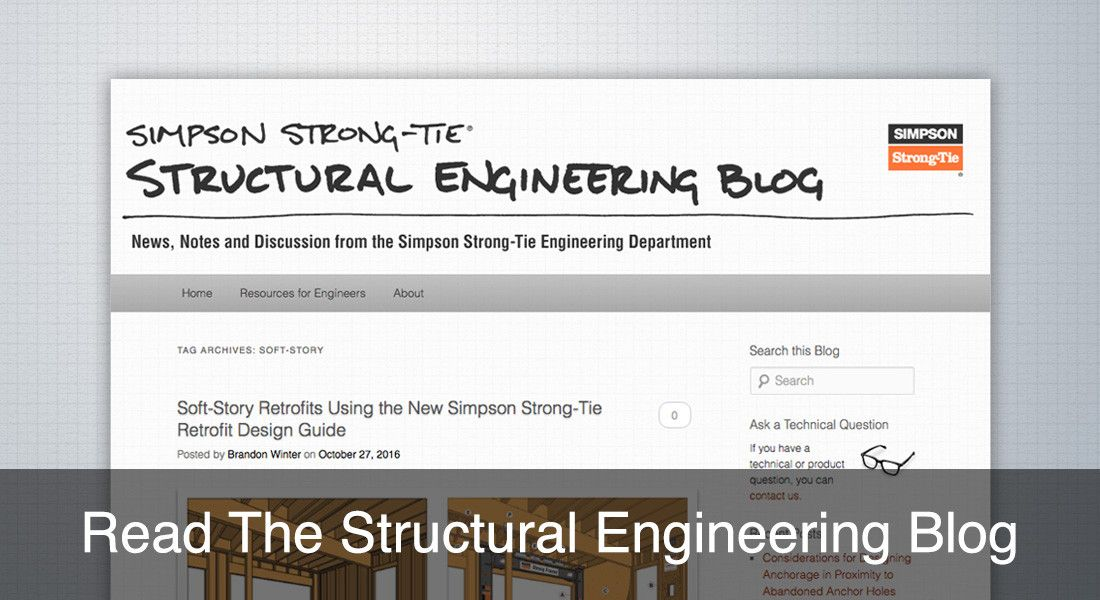 Visit our Structural Engineering Blog