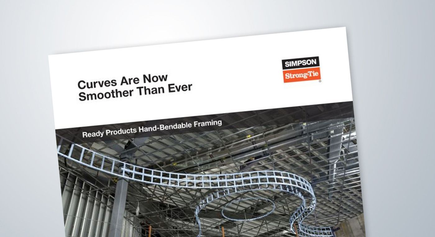 Ready Products Hand-Bendable Framing