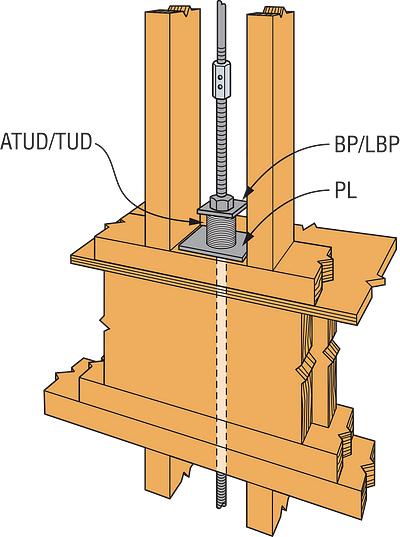 Shallow Podium Anchor — Anchor Reinforcement Away-From-Edge Condition