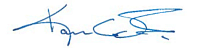 Karen Colonias signature