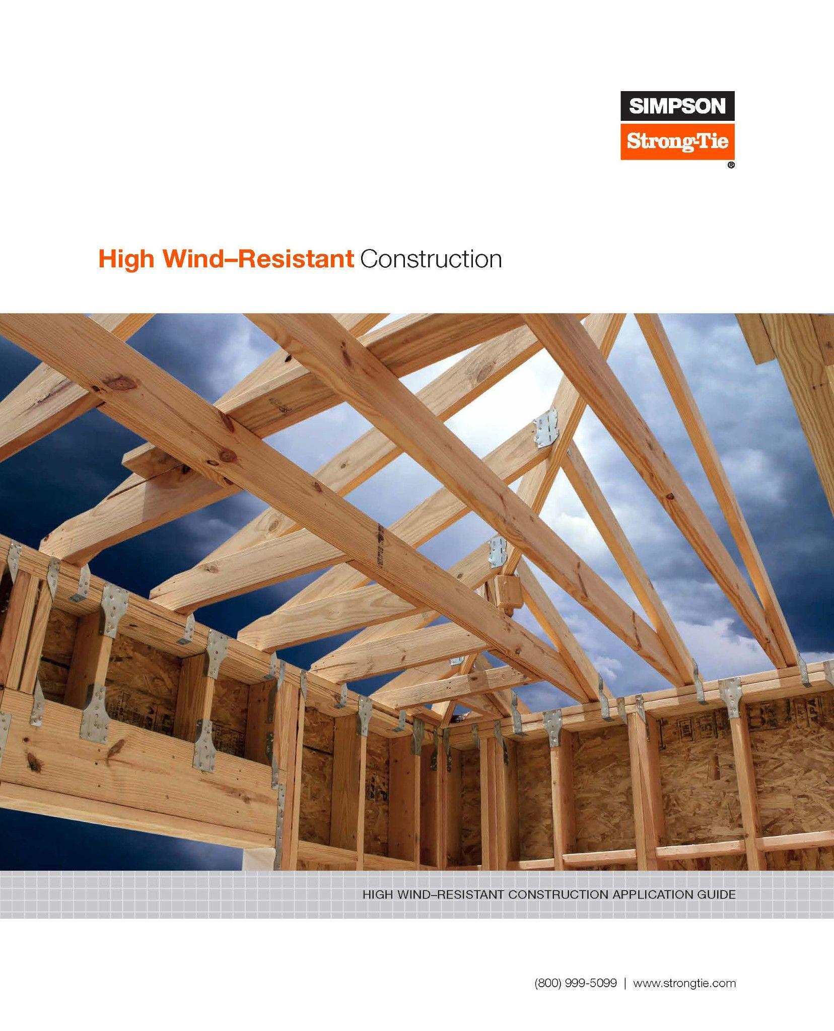 F-C-HWRCAG16 – High Wind-Resistant Construction Application Guide