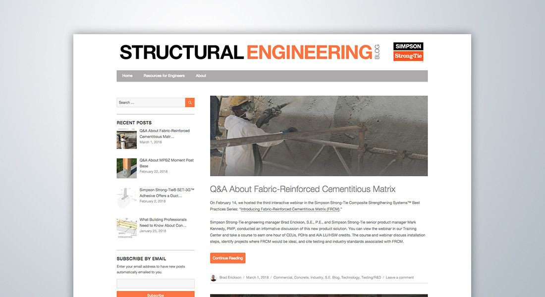 Structural Engineering Blog