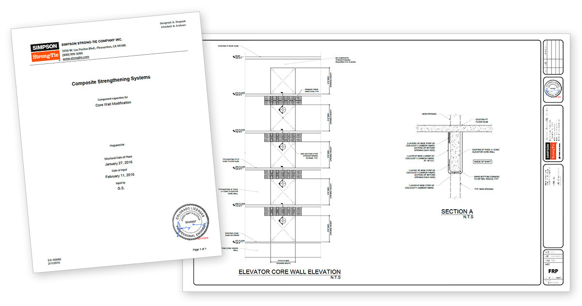 FRP Design Engineering Services Package