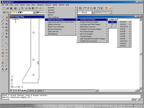 menu for AutoCAD 2000–2011