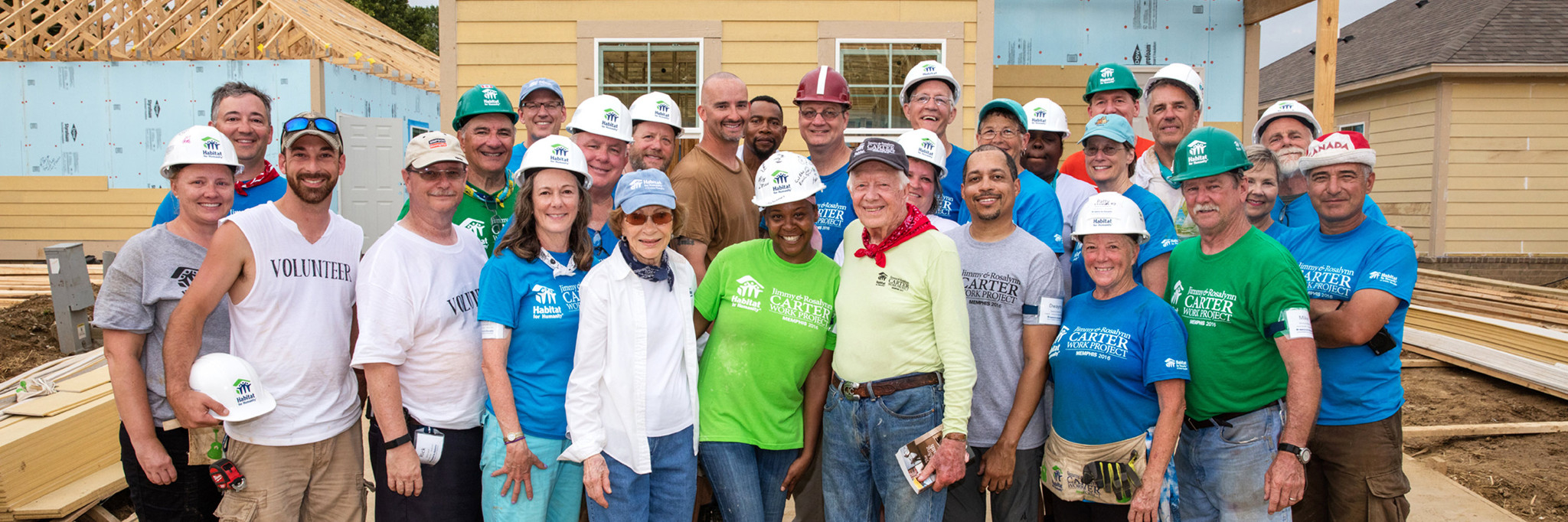 Habitat's Carter Work Project