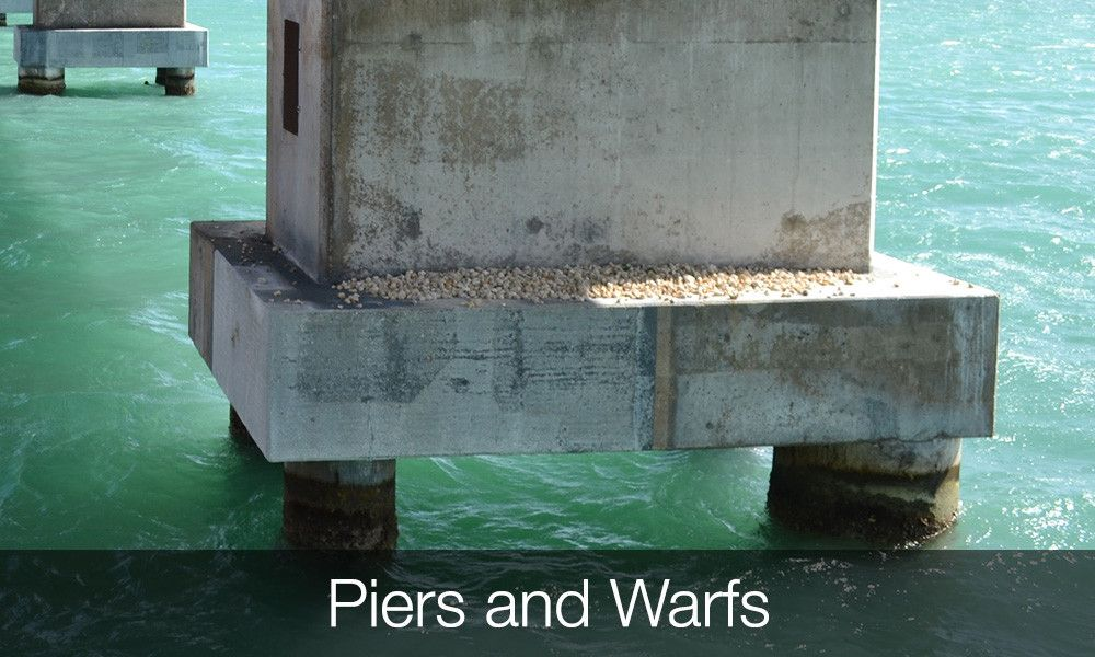 Concrete Strengthening Applications Piers and Warfs
