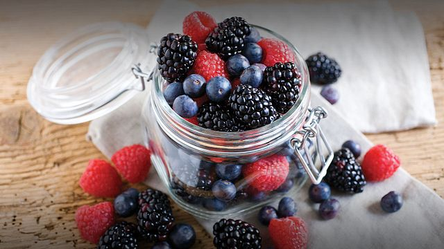 Blueberries, Blackberries or Raspberries