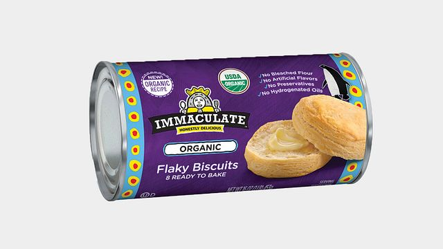ORGANIC Immaculate Baking Biscuits or Rolls
