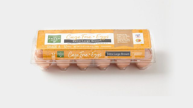 The Fresh Market Brown Cage-Free Eggs