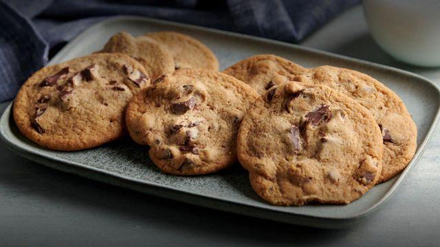 Gourmet Chocolate Chunk Toffee Cookies