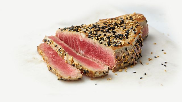 Wild Sashimi Tuna Steaks