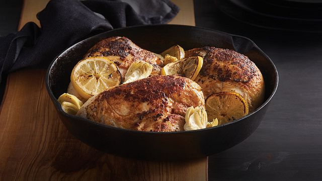 Bone-In Split Chicken Breasts