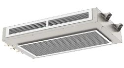Horizontal Recessed Active Chilled/Bulkhead Beam