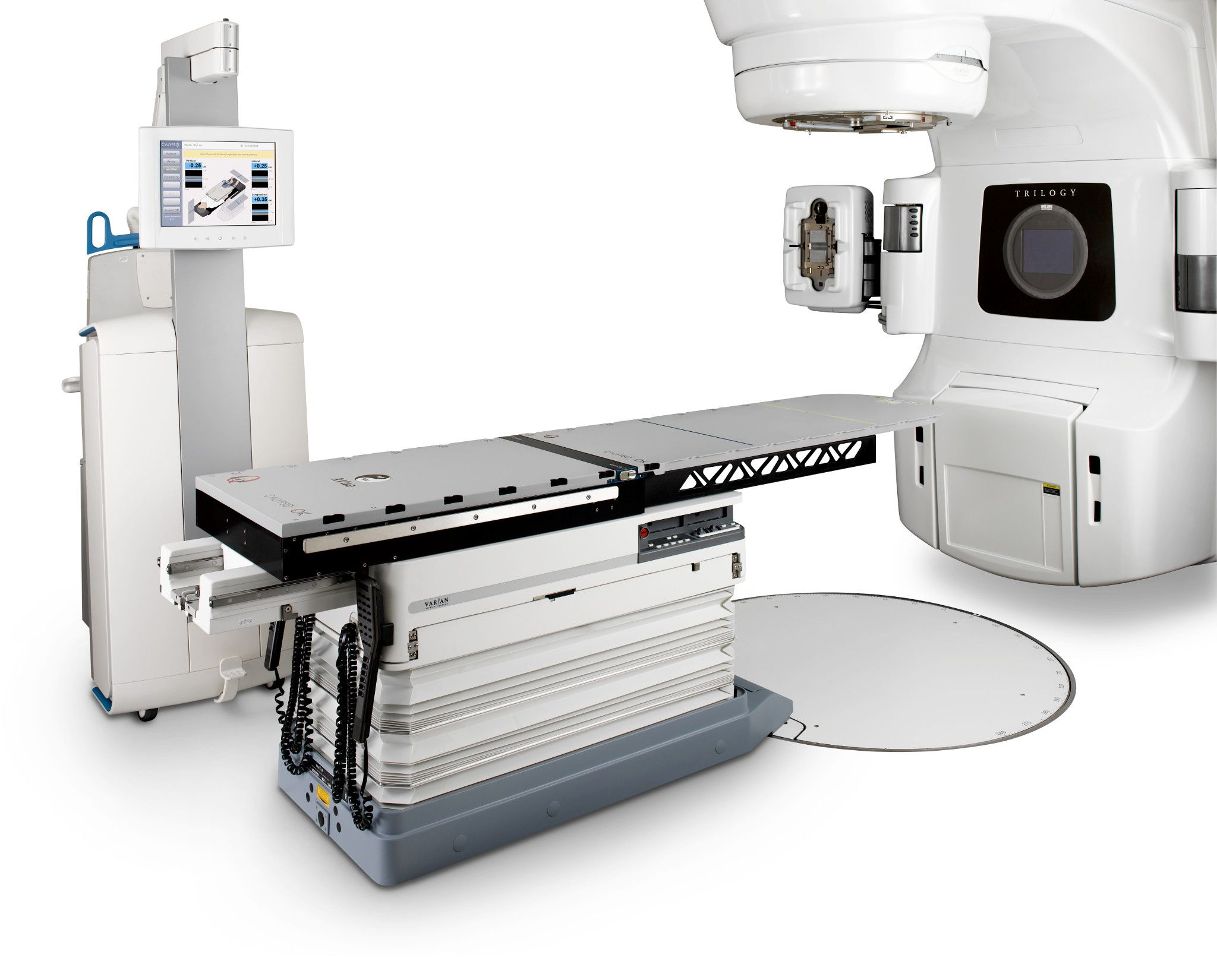Varian's Calypso system for tracking tumor motion
