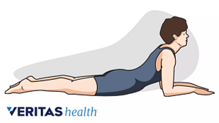 Press-up stretch