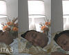 Image of man sleeping in three different poses