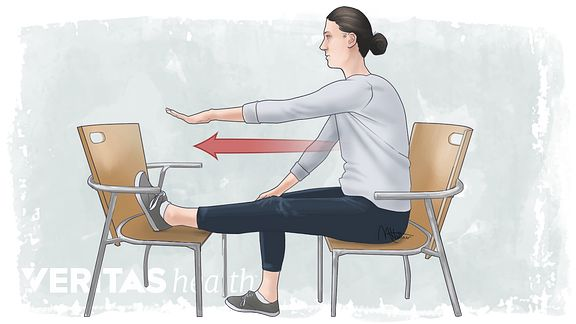 Chair Hamstring Stretch