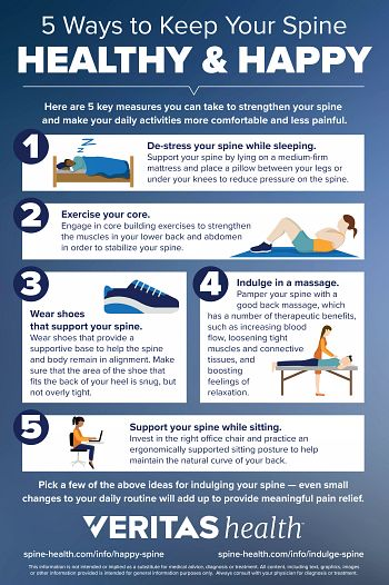 5 Ways to Keep Your Spine Healthy and Happy
