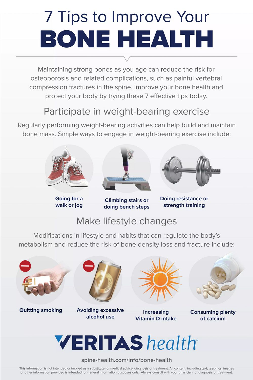 7 Tips to Improve Your Bone Health