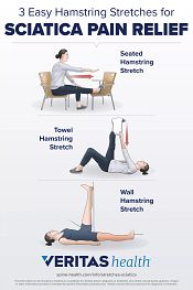 3 Hamstring stretches for back pain relief